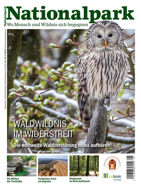 Cover: Waldwildnis im Widerstreit: