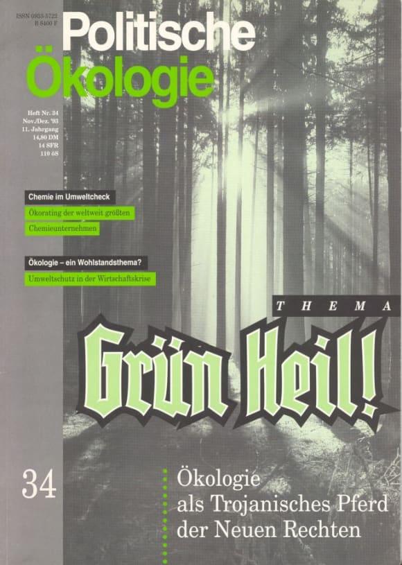 Cover: Grün Heil
