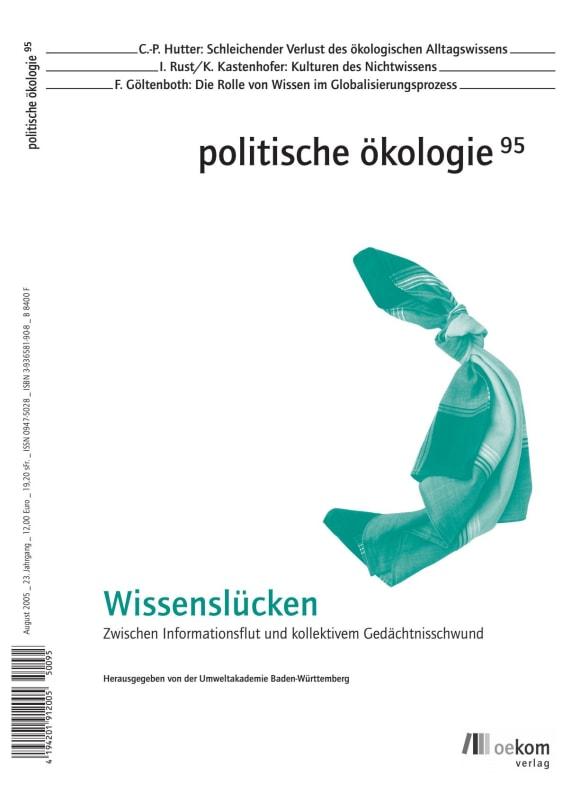 Cover: Wissenslücken
