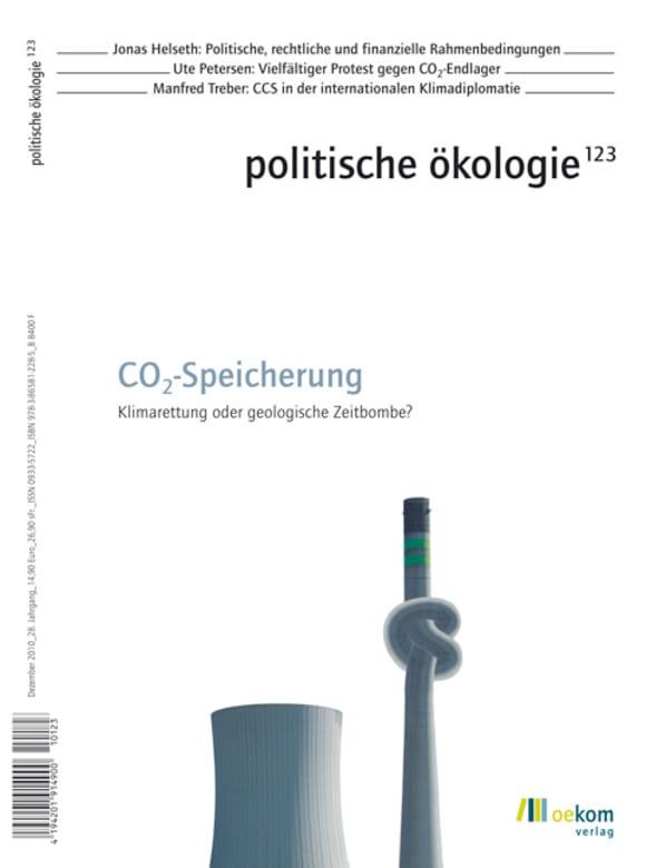 Cover: CO2-Speicherung