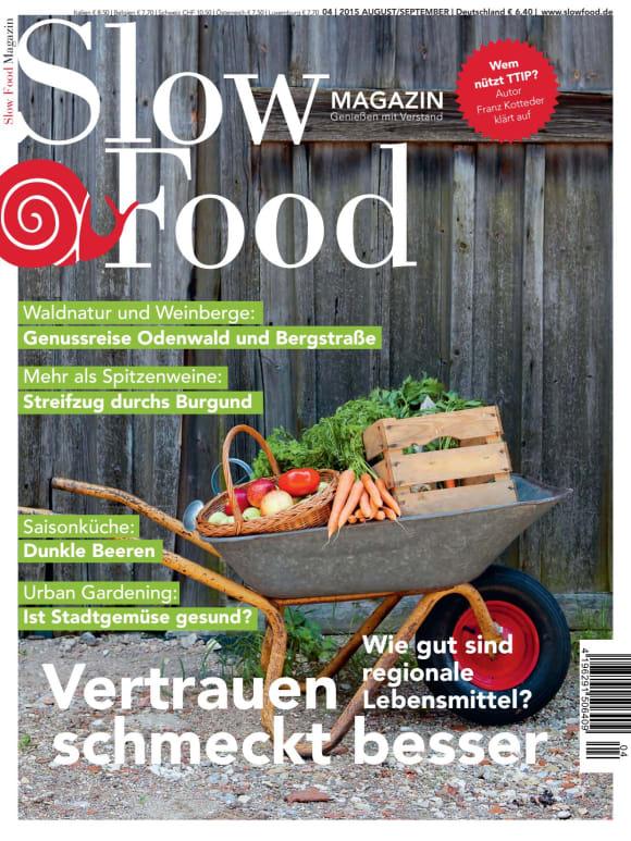 Cover: Vertrauen schmeckt besser