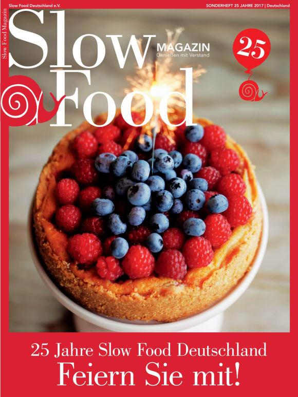 Cover: 25 Jahre Slow Food Deutschland
