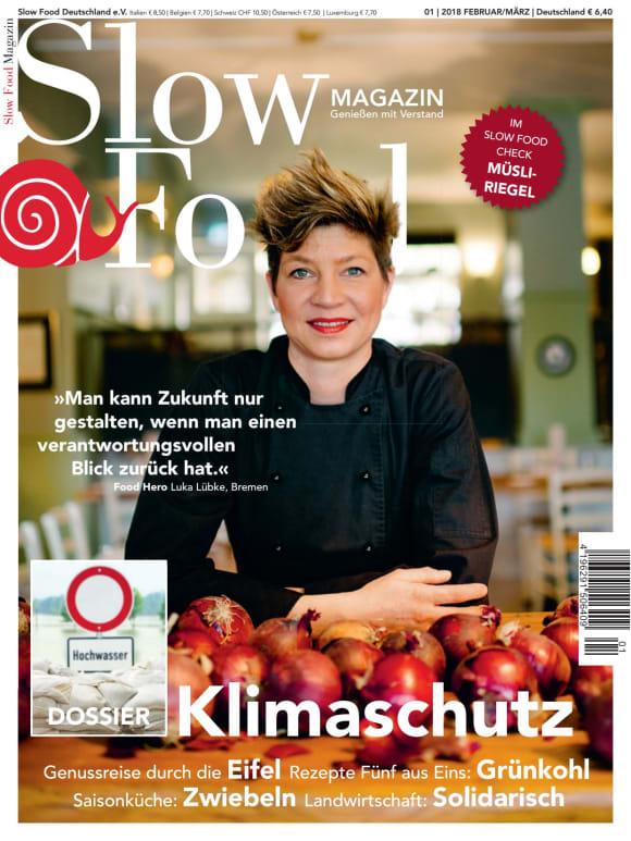 Cover: Slow essen ist aktiver Klimaschutz