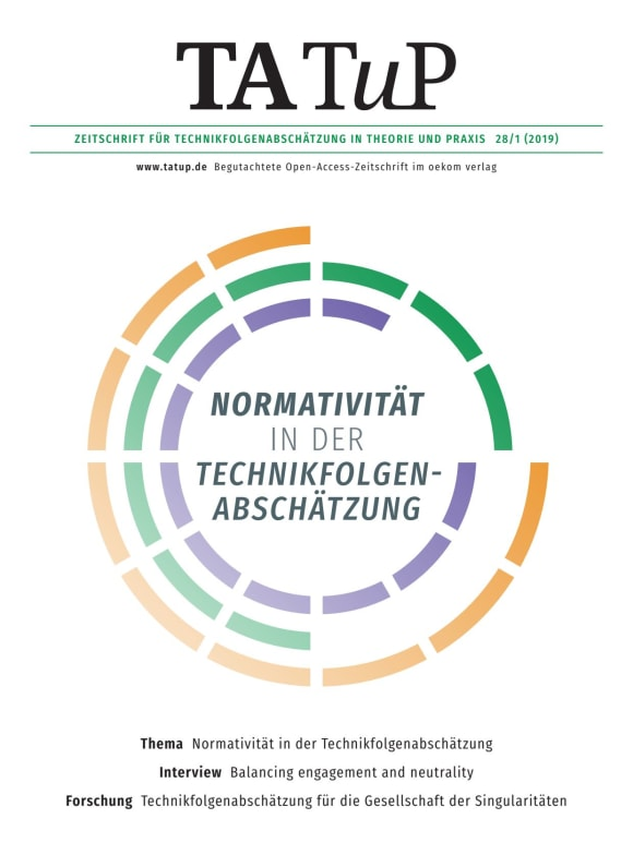Cover: Normativity in Technology Assessment