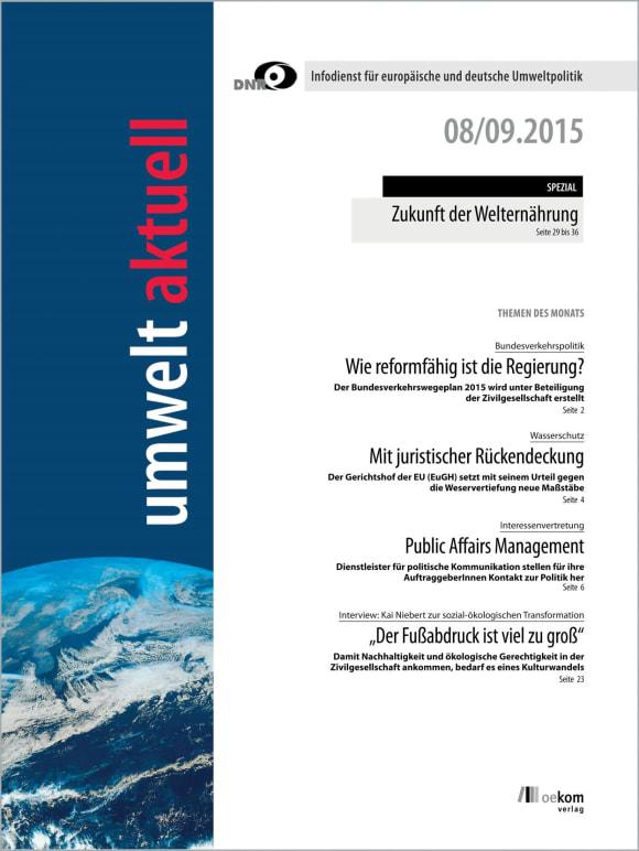 Cover: Doppelheft 8-9/2015