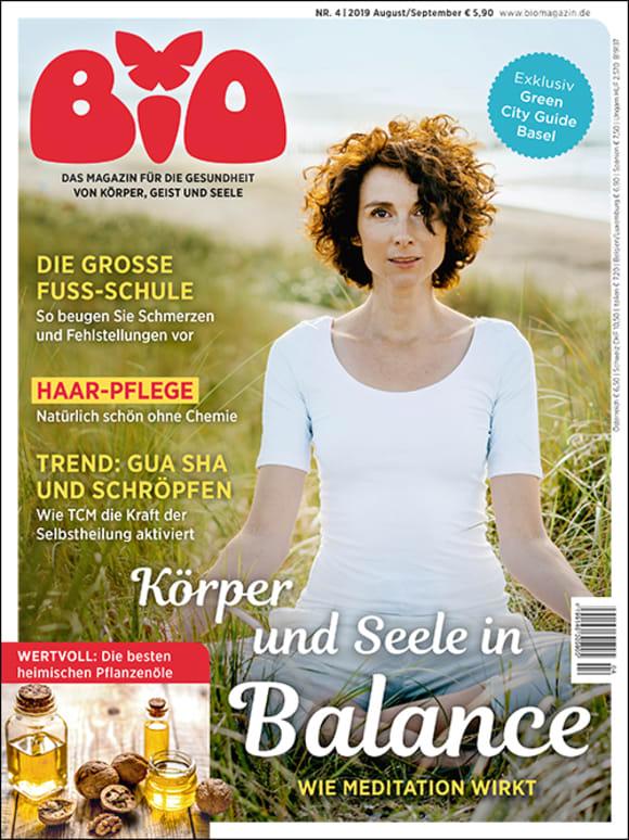 Cover: Körper und Seele in Balance – Wie Meditation wirkt