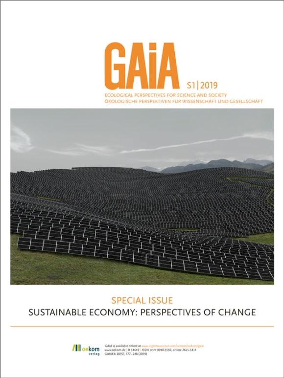 Cover: Sustainable Economy