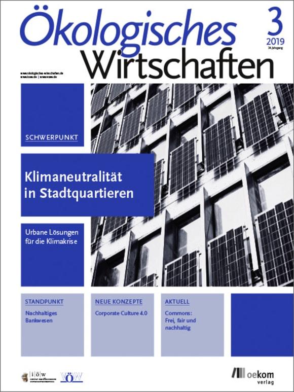 Cover: Klimaneutralität in Stadtquartieren