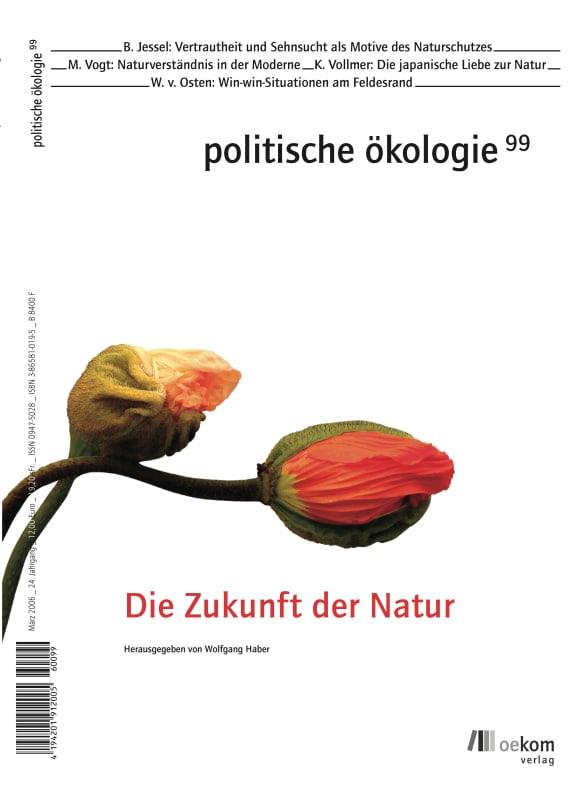 Cover: Die Zukunft der Natur