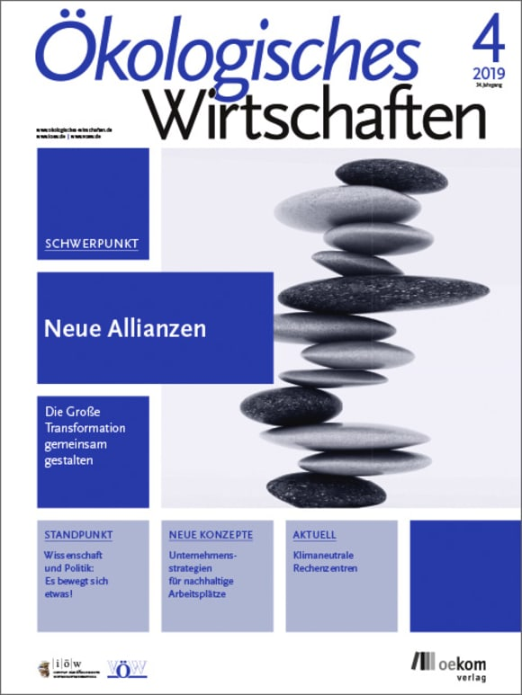 Cover: Neue Allianzen