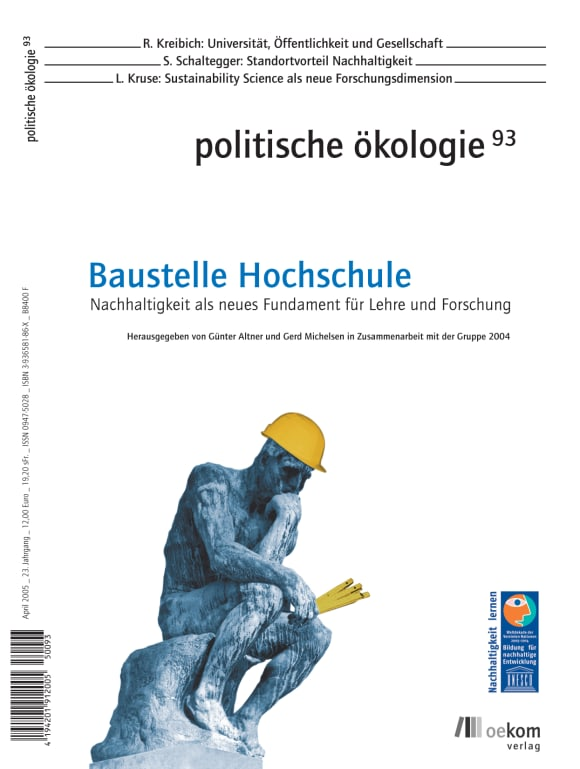 Cover: Baustelle Hochschule