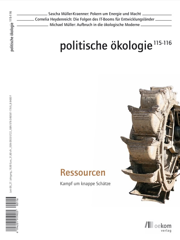 Cover: Ressourcen