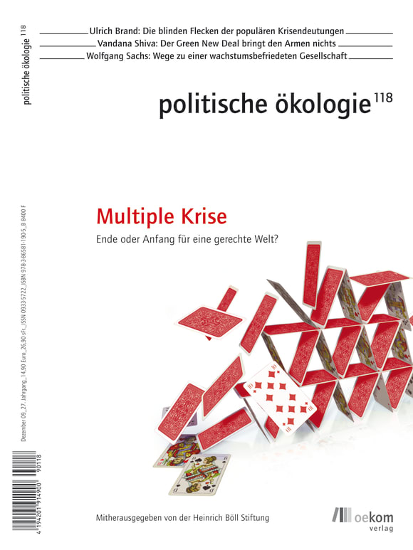 Cover: Multiple Krisen