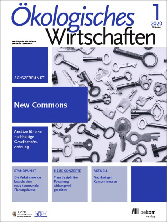 Cover: New Commons