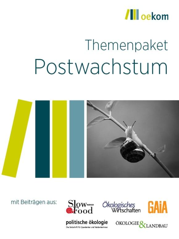 Cover: Postwachstum