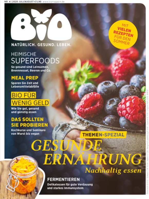 Cover: Themen-Spezial: Gesunde Ernährung