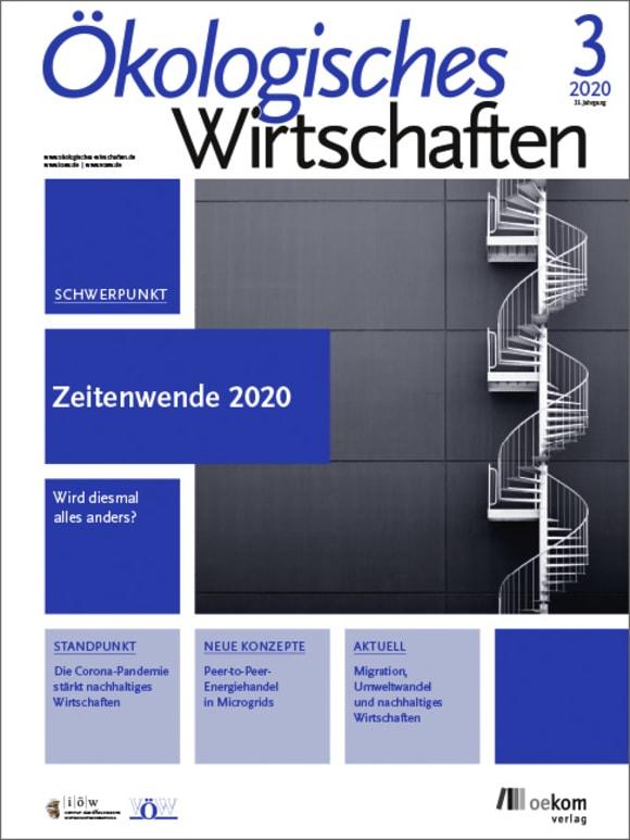 Cover: Zeitenwende 2020