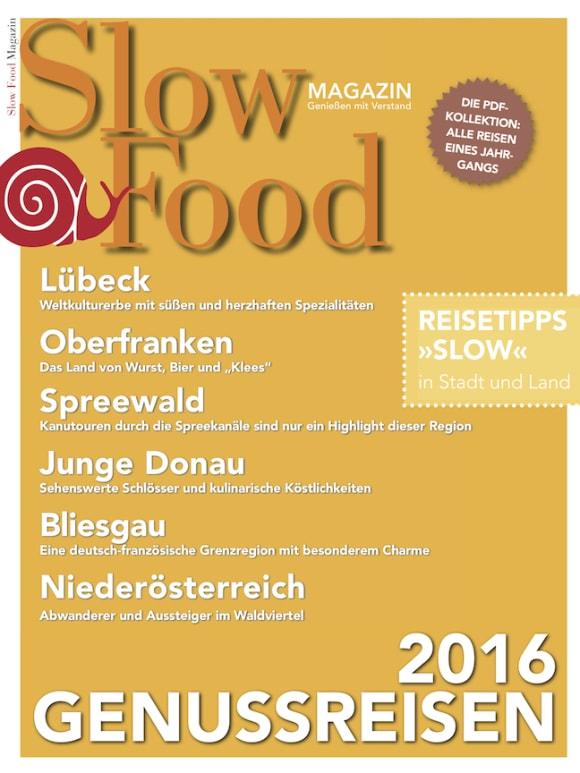 Cover: Genussreisen 2016