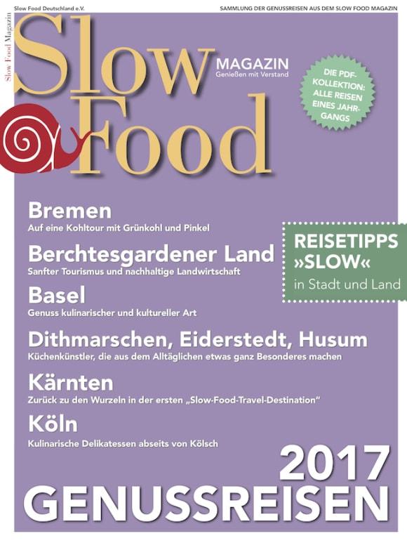 Cover: Genussreisen 2017