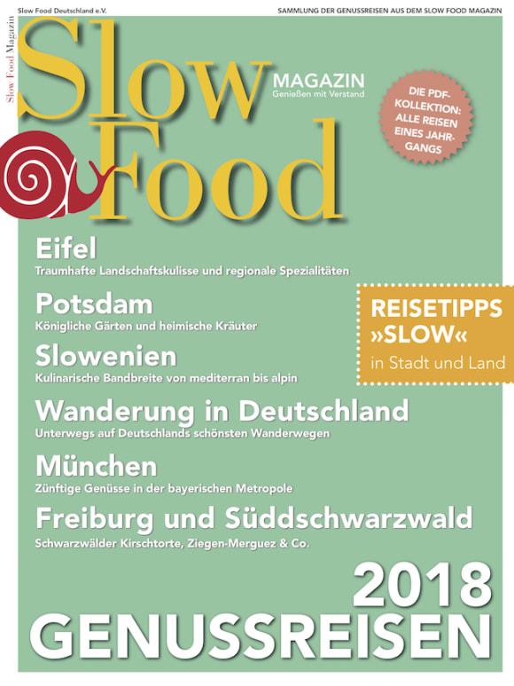 Cover: Genussreisen 2018