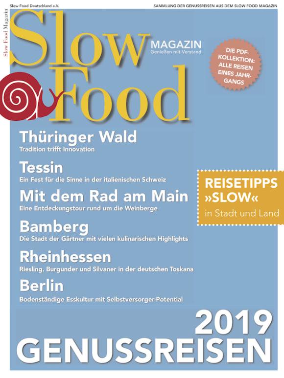 Cover: Genussreisen 2019