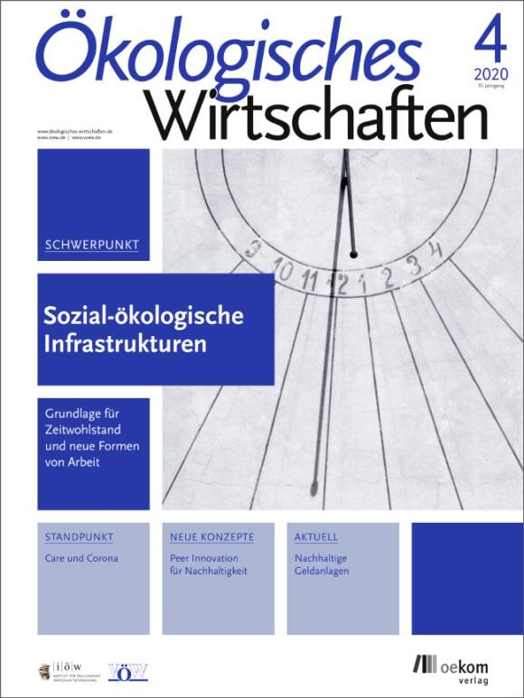 Cover: Sozial-ökologische Infrastrukturen