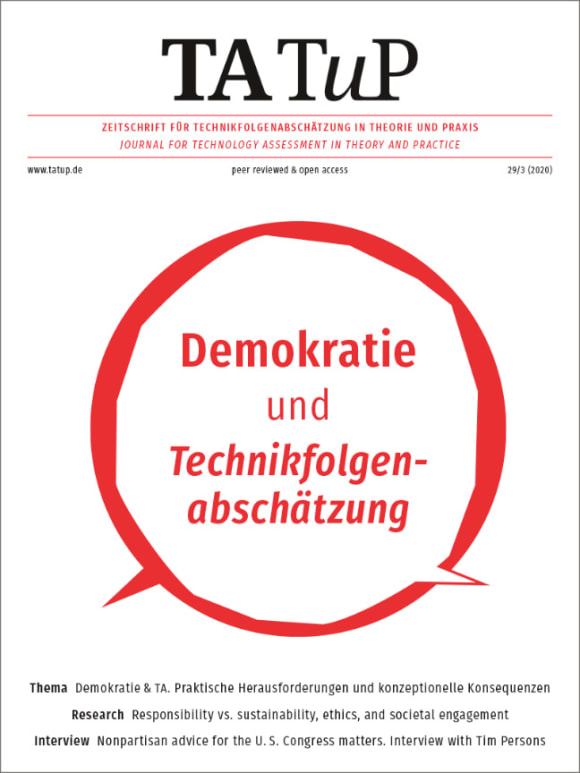 Cover: Democracy and technology assessment
