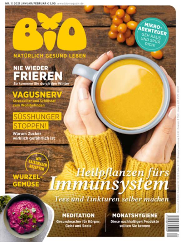 Cover: Heilpflanzen fürs Immunsystem