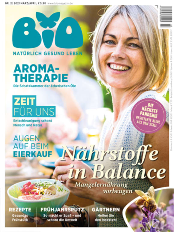 Cover: Nährstoffe in Balance