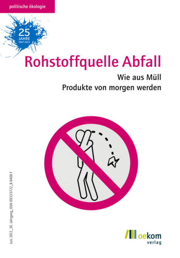Cover: Rohstoffquelle Abfall