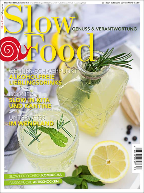 Cover: Dossier: Slow in Kita und Kantine