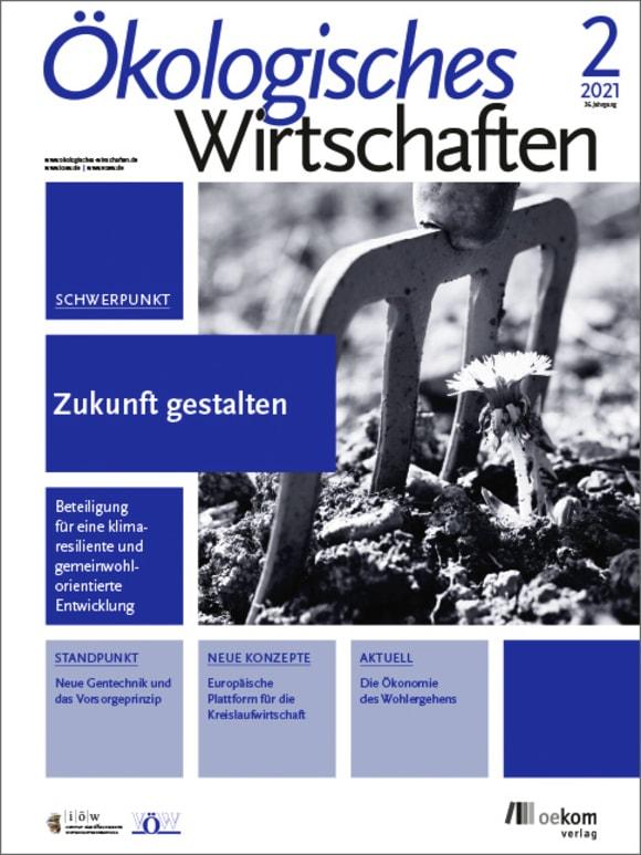 Cover: Zukunft gestalten