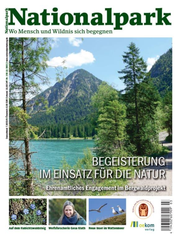 Cover: Begeisterung im Einsatz für die Natur