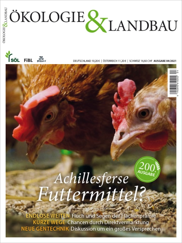Cover: Achillesferse Futtermittel?