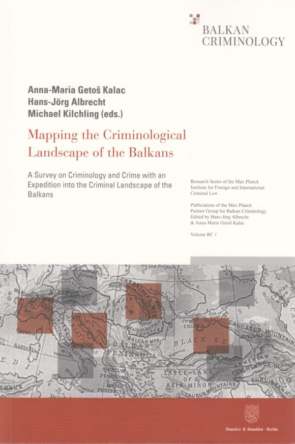 Cover Mapping the Criminological Landscape of the Balkans