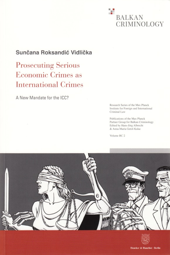 Cover Prosecuting Serious Economic Crimes as International Crimes