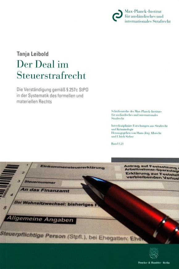 Cover Der Deal im Steuerstrafrecht