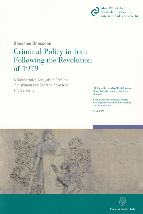 Cover Criminal Policy in Iran Following the Revolution of 1979