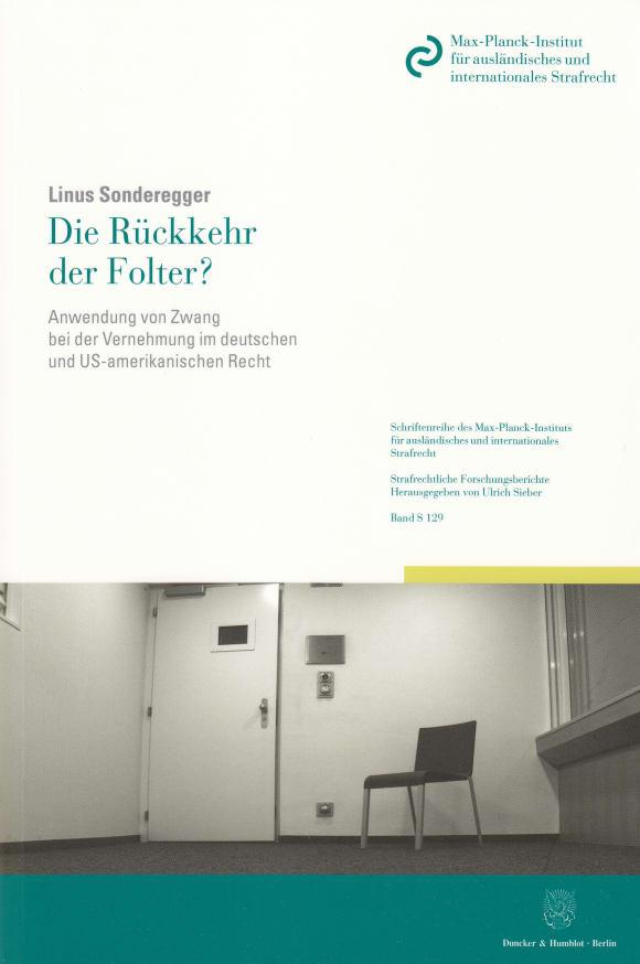 Cover Die Rückkehr der Folter?