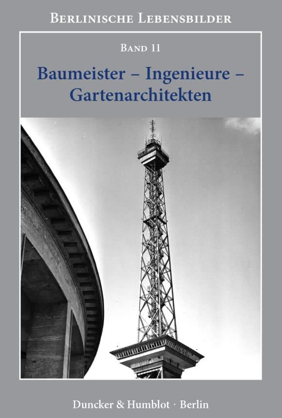 Cover Berlinische Lebensbilder (BLB)