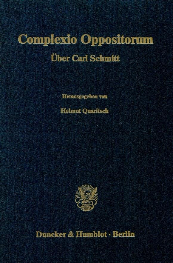 Cover Complexio Oppositorum