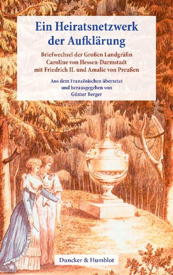 Cover Ein Heiratsnetzwerk der Aufklärung