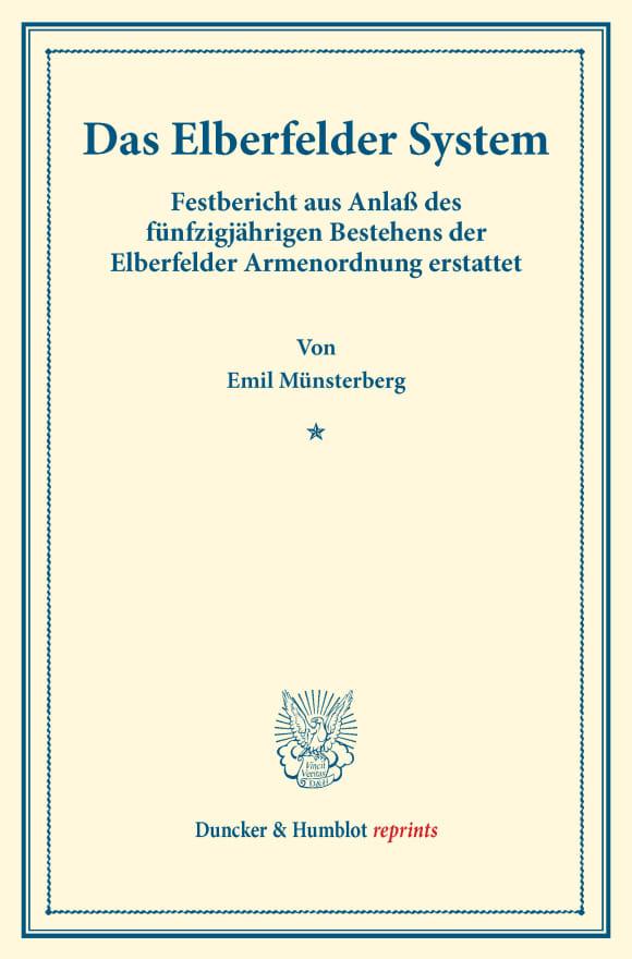 Cover Das Elberfelder System