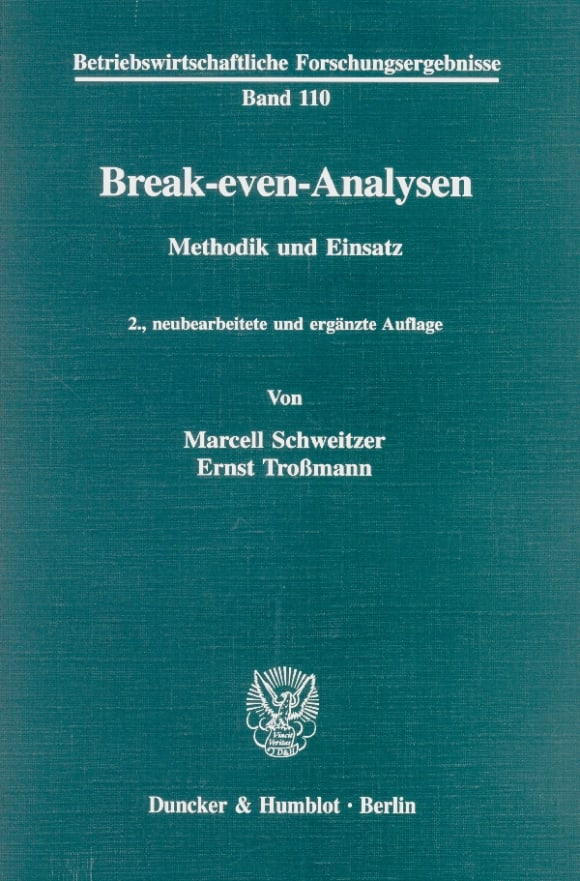 Cover Break-even-Analysen
