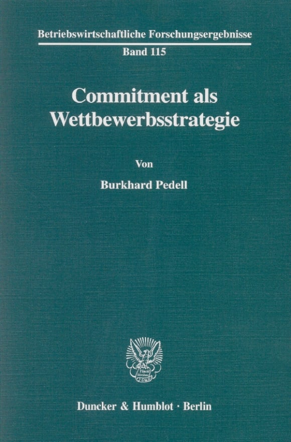 Cover Commitment als Wettbewerbsstrategie