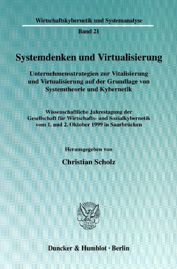 Cover Systemdenken und Virtualisierung