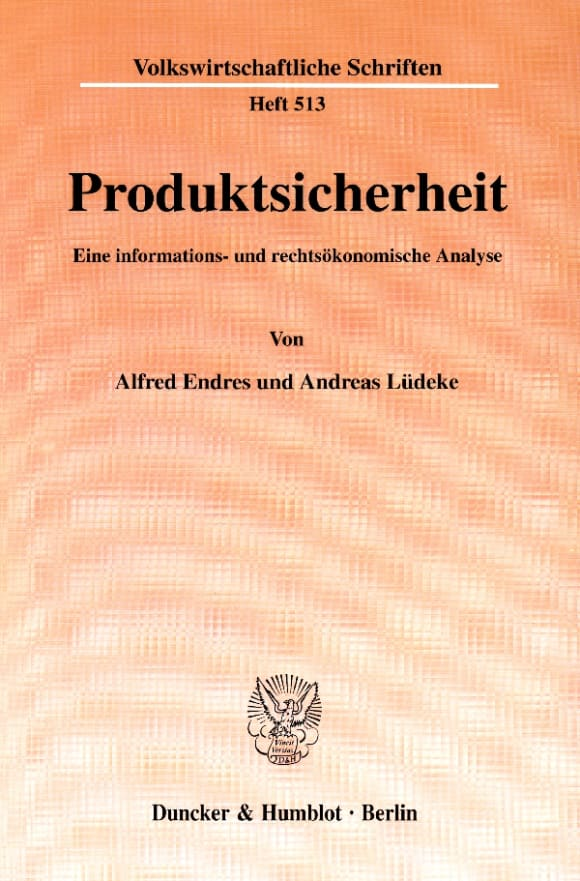 Cover Produktsicherheit