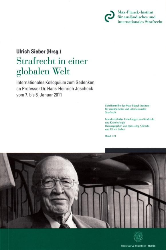Cover Strafrecht in einer globalen Welt