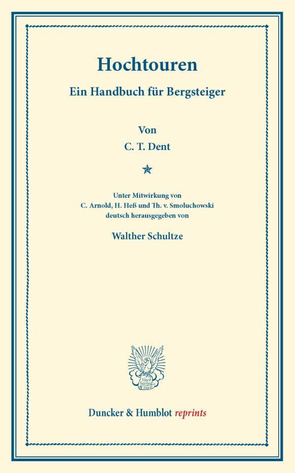 Cover Hochtouren