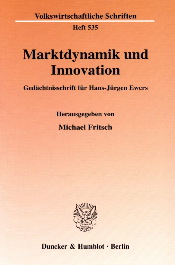 Cover Marktdynamik und Innovation
